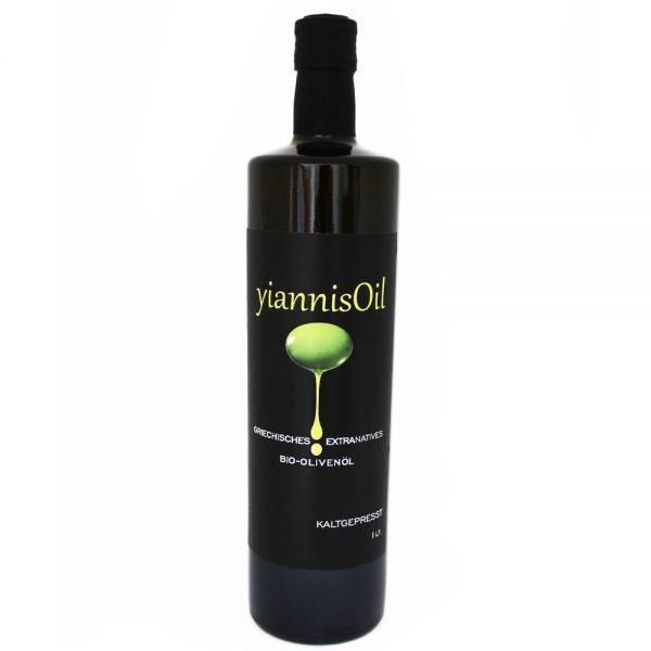 yiannisOil - Bio-Olivenöl - 1 Liter